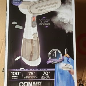 Brand new Conair fabric steamer